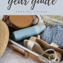 travel gear guide pinterest cover