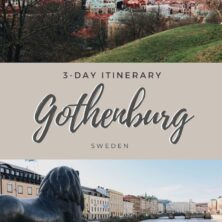 Gothenburg, Sweden: A 3-Day Itinerary