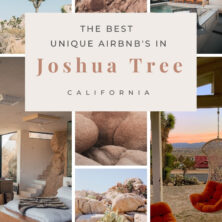 best unqiue air bnbs in joshua tree